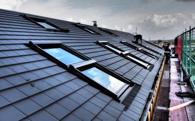 Steildach und Dachfenster